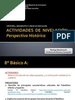 Actividades Perspectiva Histórica 8°