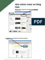 Tutorial COmo Crear Un BLog en Wordpress BlogWP