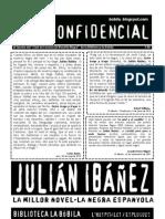 L'H Confidencial, 80. Julián Ibáñez, la millor novel·la negra espanyola
