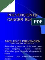 Prevencion de Cancer Bucal
