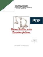 Nociones Generales de Las Disciplinas Juridic As.