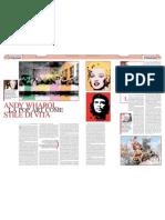 «Andy Wharol, la pop art come stile di vita»