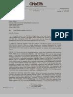 Ohio EPA Letter to Girard, Ohio