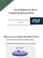 Propuesta Al Gobiernos de La Ciudad de Buenos