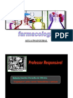 1. Aula Inaugural Farmacologia [Modo de Compatibilidade