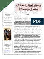 Carta Misionera Marzo 2012