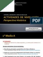 Actividades Perspectiva Histórica 1°M