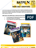 NATPE Daily Advertising
