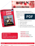 Show Guide Cover Positions