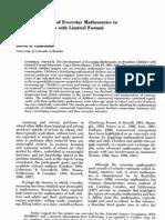 Guberman_The Development of Everyday Mathematics in Brazilian Children