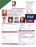 2009 Judy Venn Booth Hostess Order Form