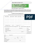 NATPE 2009 Security Booth Monitor Order Form