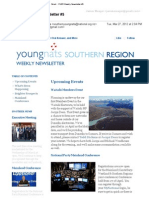 Weekly Newsletter #5 2012