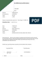 Contoh Surat Pernyataan Jatuh Talak