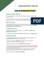 Campeonato futsal - Regulamento 21-12-2008