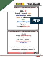 Apostila de Identificação Veicular - Pronasci - 2011