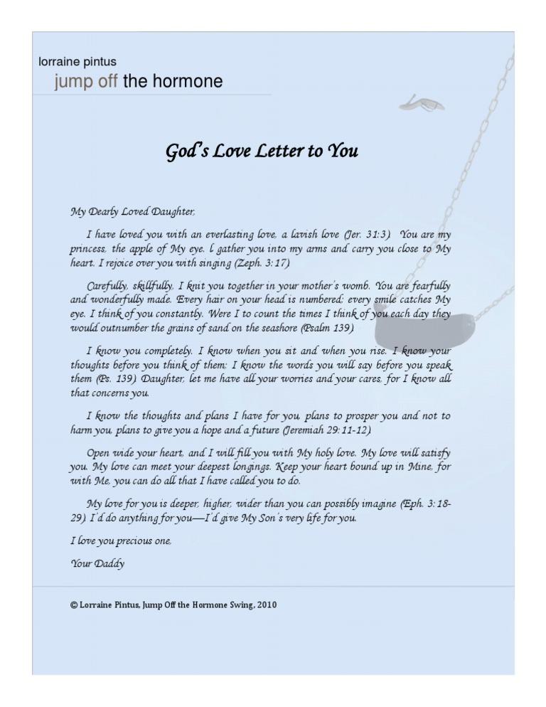 god love letter