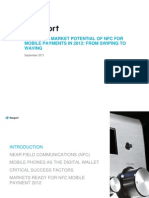 2012 Global Market Potential Nfc for Mobile Payments