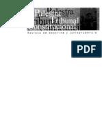 CDG - La constitucionalidad del reemplazo del congresista con sentencia por delito doloso