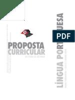 Curriculo Lingua Portuguesa SEESP