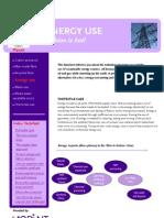 Factsheet Energy Use