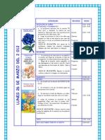 PROGRA 26 - 30 MARZO