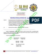 Www.ra9646.Com - BIR New VAT Threshold for RE Property (2012)
