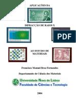 Aplicação DRX no estudo de materiais