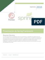 Presentacion Spring Framework