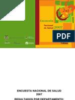 Encuesta Nacional Salud Tolima