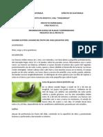Plagas Chile Dulce Reporte