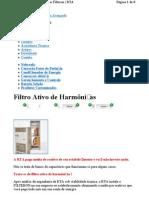 Www.rta.Com.br Filtro Ativo de Harmonic As