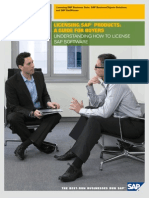 2009 Licensing SAP Products a Guide for Buyers English