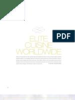 Elite Cuisine Worldwide - Elite Traveler