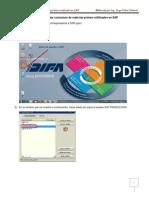 Guia Para Revisar Consumos de Materias Primas Notificados en SAP