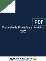 Nortelex · Portafolio Productos y Servicios 2012