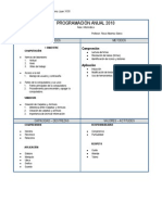 programacion anual 2 primaria