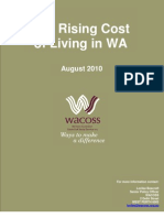 The Rising Cost of Living in WA