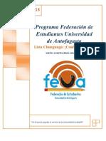 Programa Federacion Lista Chungunga 2012