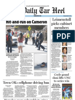The Daily Tar Heel for March 27, 2012