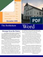 BCC Newsletter Dec 08