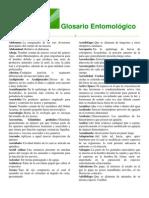 Glosario Entomológico