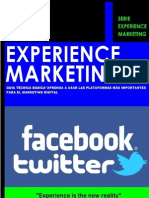 Experience Marketing Guia Tecnica Basica FACEBOOK y TWITTER