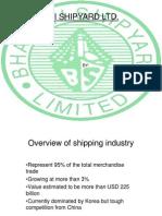 Shipbuilding Bharti Shipyard Ltd