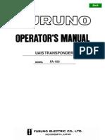 FA100 Operator's Manual K4 9-7-05