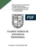 EXAMEN DE SUFICIENCIA