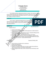 Quantity Surveyor Sample Resume (3)