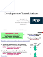 Development of Lateral Surfaces