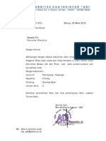 Surat an Brosur Dan Price List Lift Hyundai