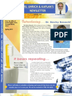 College Drive Dental Spring 2011 Newsletter